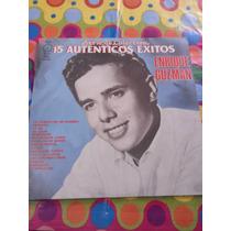 Enrique Guzmán Lp 15 Autenticos Éxitos 1962