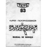 Manual De Serviço Taito Hawkman Cópia Impressa Ou Arquivo Di