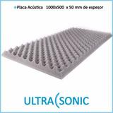 Panel Acústico Placa Acústica 1000 X 500 X 50mm