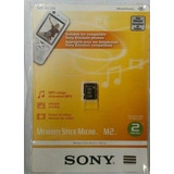 Memory Stick Sony Micro M2 2gb Ms-a2g/2nqt Original Blister