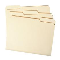 Smead Manila Carpeta De Archivos, 1/3-cut Tab, Tamaño Carta,