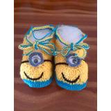 Sandalias Y Zapatos Tejidos A Mano De Bebe