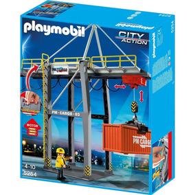 Playmobil 5254 Terminal De Carga (caja Maltratada)
