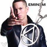 Colar Eminem Masculino Hip Hop Cordão Aço Slim Shady