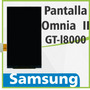 Pantalla Lcd Display Samsung Omnia Ii I8000 Nueva Original