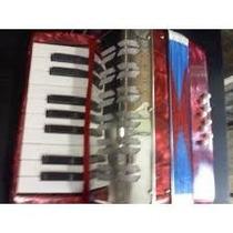 Mini Acordeon A Piano 17 Teclas 8 Bajos Musica Envio Gratis