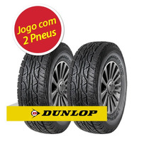 Kit Pneu Aro 15 Dunlop 205/70r15 At3 96t 2 Unidades