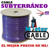 Cable Subterraneo 2 X 10 Mm X 100 Mtrs - Fabrica!!