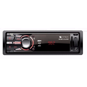Mp3 Automotivo Carro Som Com Usb Visor Lcd 2 Saidas Rca