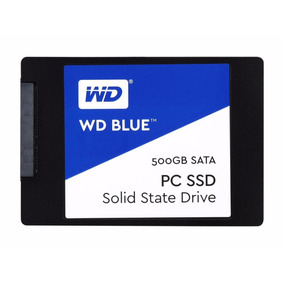 Ssd 500gb Sata Wd Blue Internal Wds500g1b0a