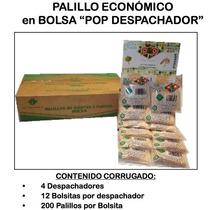Palillo De Dientes Bolsita Exhibidor