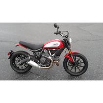Ducati, Scrambler, Icon Roja, Modelo 2015