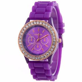 9704709e977 Relógio De Pulso Feminino Rr Relogs Roxo - Relógios De Pulso no ...