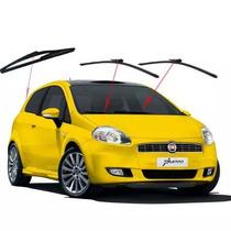 Palheta Limpador Parabrisa Dianteiro Traseiro Fiat Punto 08