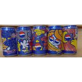 Coleção De Latinhas Pepsi Set Pinturas Romero Britto