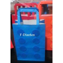 Souvenirs Bolsita Golosinera Modelo Bloques Lego