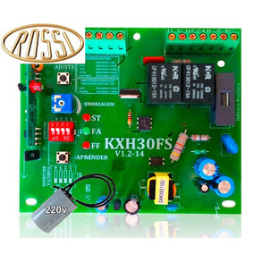 Kit Placa Central Rossi Kxh30fs E 01 Capacitor 220v