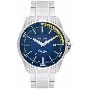 Promoção Relógio Orient Mostrador Azul Lindo Mbss1296+frete