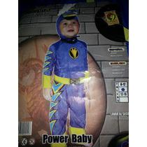 Disfraz De Power Rangel Bebe