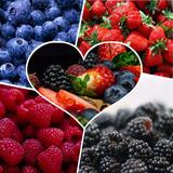 Mix De Frutos Rojos, Arandanos , Moras, Frutilla