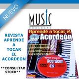 Revista Aprende A Tocar El Acordeon - Bm Music Boulogne -