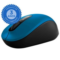 Mouse Microsoft Bluetooth 4.0 3600 Azul Novo Original + Nf-e