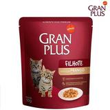 Alimento Gran Plus Gatos Filhotes Sabor Frango Sache 50gr