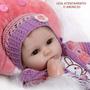 Bebê Reborn Mel Com Brinde. Promoção Imperdível