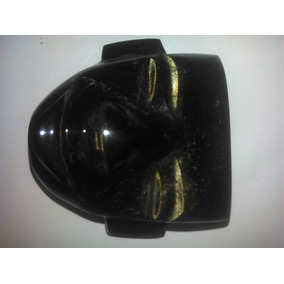 Mascara Teotihuacana Obsidiana Colgante