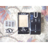 Stock Carcasa Competo Sony Ericsson W995 Negro Teclado