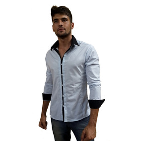 Camisas Slim Fit Social Manga Longa Fabricado Brasil