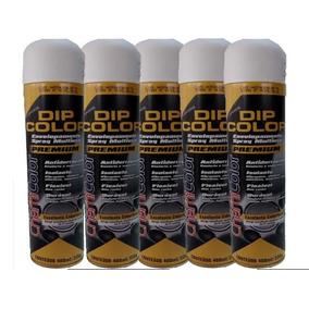 Dip Color Spray Branco Fosco Envelopamento Líquido Tuning
