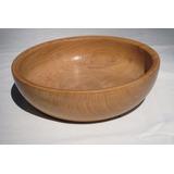 Bowls De Madera 24 Cm Ensaladera De Madera Cuencos Del Lago