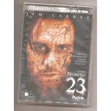 Número 23 Com Jim Carrey Dvd Lacrado