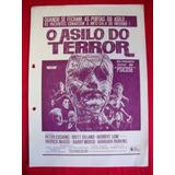 Cartaz De Cinema: O Asilo Do Terror - ( Asylum )