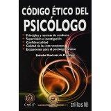 Libro Codigo Etico Del Psicologo *cj *tr