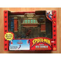 Spider Man Hombre Araña Web Swinger 2002 Calgado Telaraña .