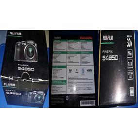 Camara Digital Fujifilm Finepix S4850 Negra 16mp 30x Optical