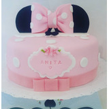 Tortas Decoradas Infantiles,cumpleaños X 2 Kg + 12 Cupcakes.