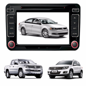 Kit Central Multimidia Jetta Amarok Tiguan Original Volks