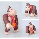 Figura Donkey Kong De Plastico 6 Pulgadas De Altura