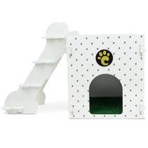 Casinha Para Cachorros Pequeno Porte Joint Branca 7009 Carlu