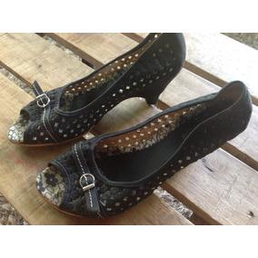 Zapatos Mujer Españoles De Cuero Igual A Nuevos!! Talle 37.5