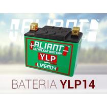 Bateria Litio Aliant Ylp14 - Honda Cb 600f Hornet Carburada