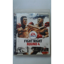 Ps3 Fight Night Round 4 Ea Sports $249 Pesos Vendo / Cambio