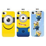 Case Celular Minions Meu Malvado Favorito Iphone 4s 5s 5c 6