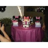 Decoracion Cumple Tematico Minnie Mouse