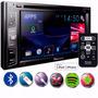 Dvd Player Pioneer Avh-x2880bt + Moldura 2din P/ Fiat Stilo