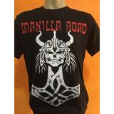 Camiseta Manilla Road Camisa Banda Rock Manilla Road