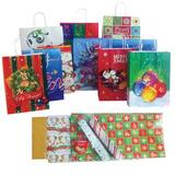 Paquete De Bolsas Y Envolturas Navideñas G-0612
